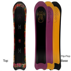Bataleon Snowboard Frauen Snowboard Love Powder 2020-21 directional shape