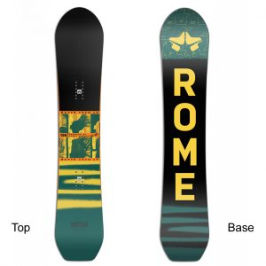 Snowboard ROME SDS Stale Crewzer direct-twin 2020-21 151, 154, 156, 158